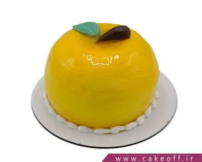 کیک تولد زیبا - کیک سیب خنده | کیک آف