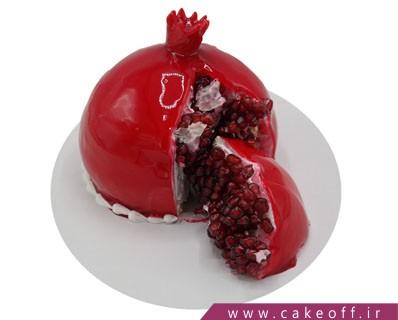 کیک انار شب یلدا | کیک آف
