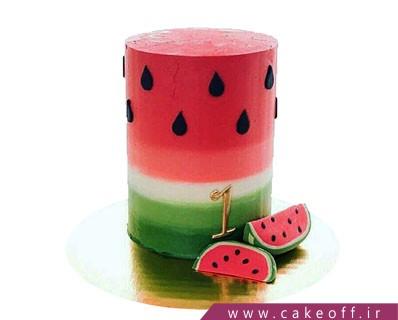 کیک هندوانه شب یلدا | کیک آف