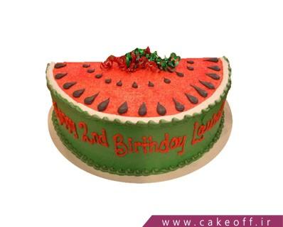 کیک شب چله - کیک شب یلدای نصفه نیمه | کیک آف