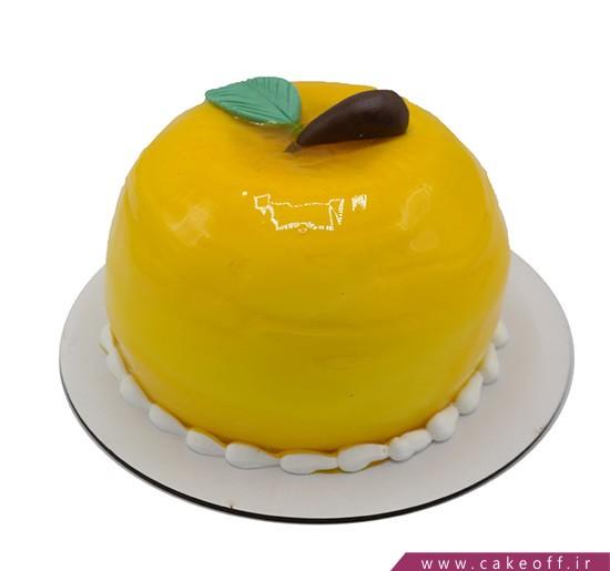 کیک تولد زیبا - کیک سیب خنده   کیک آف