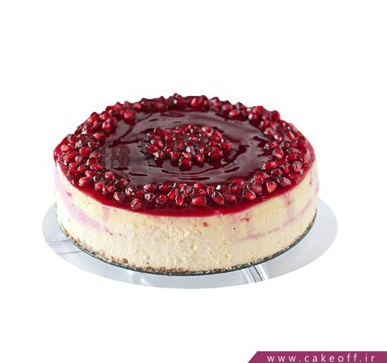 کیک انار گل