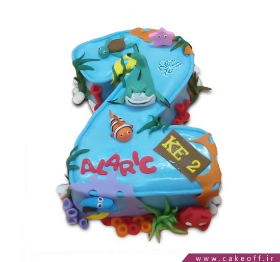 کیک عدد دو دریایی-2