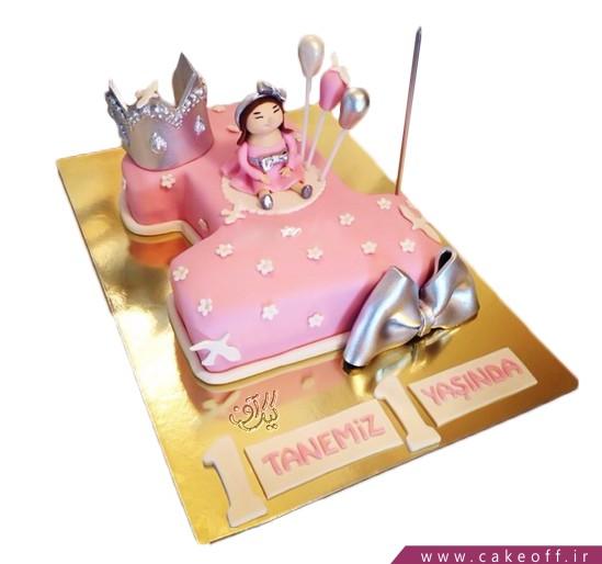 کیک عدد یک دنیای صورتی