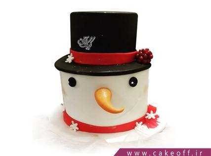 کیک آدم برفی 1 | کیک آف