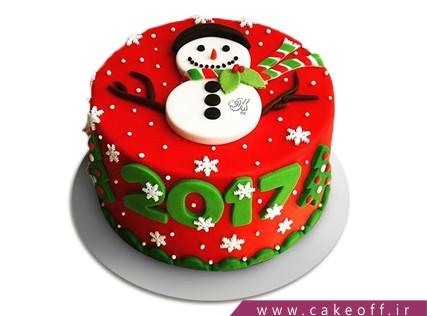 کیک آدم برفی 10 | کیک آف