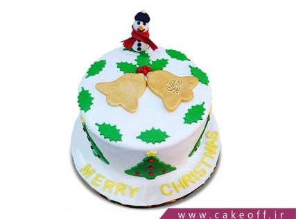 کیک آدم برفی 9 | کیک آف