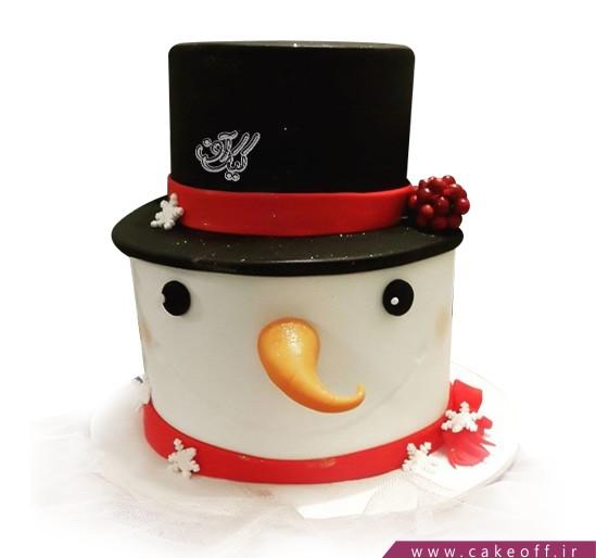 کیک آدم برفی 1