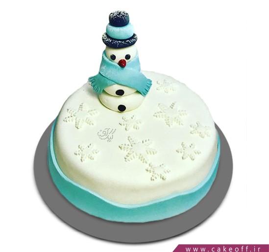 کیک آدم برفی 4 | کیک آف