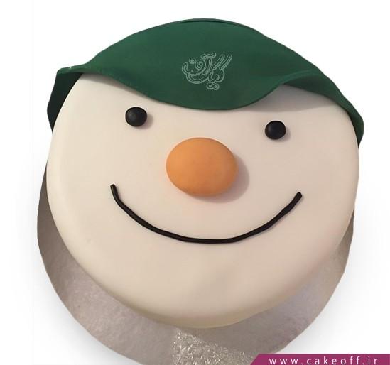 کیک آدم برفی 6
