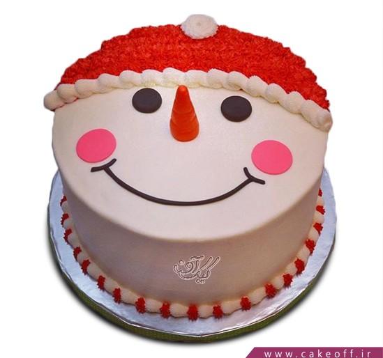 کیک آدم برفی 7
