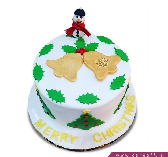کیک آدم برفی 9