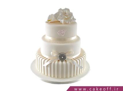 کیک عروسی شاهانه