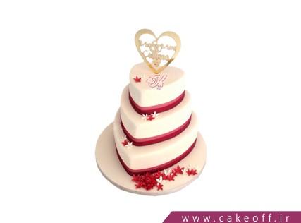کیک عروسی عاشقانه با من باش