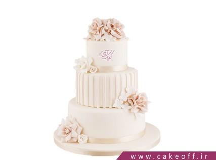 مدل کیک عروسی جدید - کیک عقد طبقاتی به وقت رسیدن | کیک آف