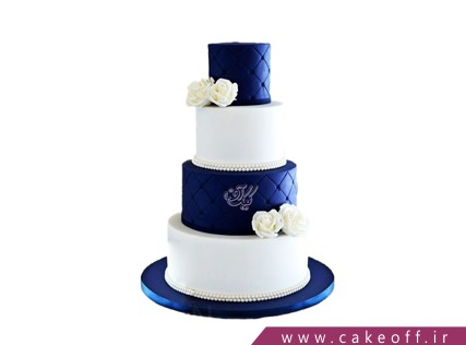 مدل کیک عروسی جدید - کیک عروسی شیک | کیک آف