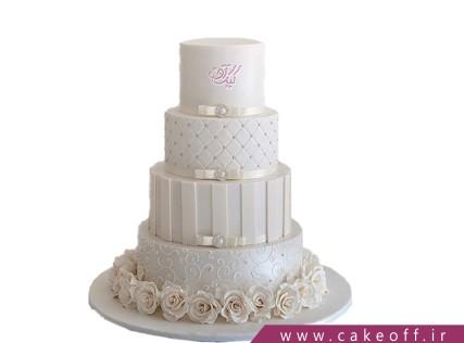 کیک عروسی ثمره عشق من و تو | کیک آف
