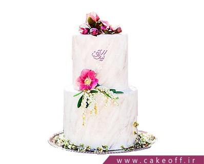 کیک عروسی جدید - کیک عقد طبقاتی احساس خوشبختی | کیک آف