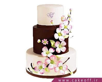 کیک عروسی - کیک عقد و عروسی با تو عمری | کیک آف