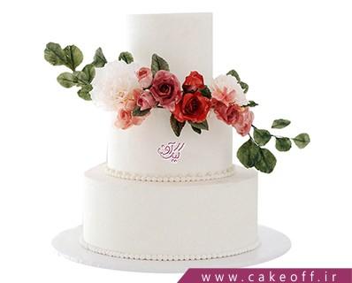 کیک های عروسی - کیک عروسی لادن 1 | کیک آف