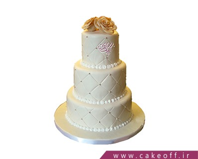 کیک عقد - کیک عروسی شیک من و تو | کیک آف