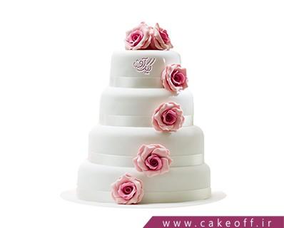 کیک عقد - کیک عروسی آریا 3 | کیک آف