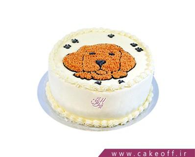 کیک تولد بچه گانه  - کیک داگی | کیک آف