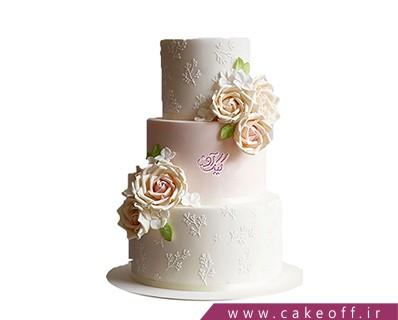 کیک عقد و عروسی - کیک عروسی آنم آرزوست | کیک آف