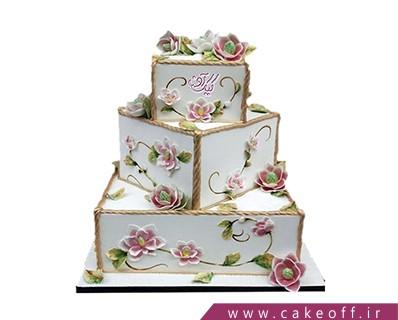 کیک عروسی آریا | کیک آف