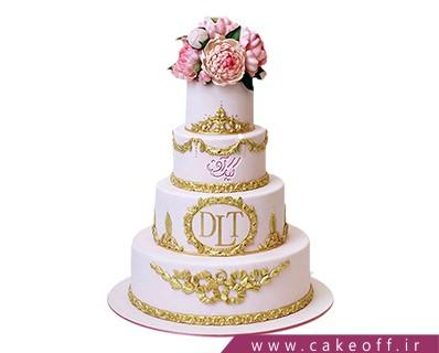 مدل کیک عروسی - کیک عروسی به زیبایی یک رویا | کیک آف