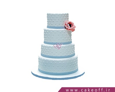 مدل کیک عروسی - کیک عروسی عشق و باز هم عشق | کیک آف