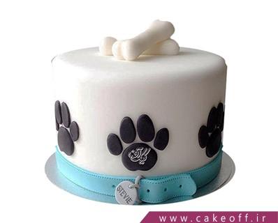 کیک تولد سگ - کیک سگ با وفا | کیک آف