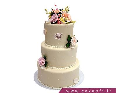 کیک عروسی نیوشا بانو | کیک آف