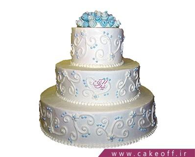 کیک عروسی نیوشا | کیک آف