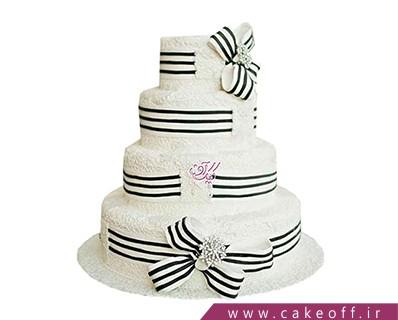 کیک عروسی پرنسس | کیک آف