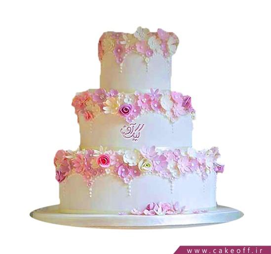 کیک عقد و عروسی عاشقانه با هم | کیک ف