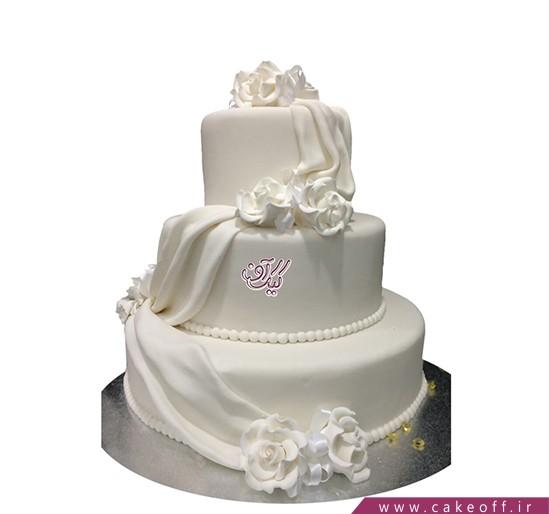 مدل کیک عروسی - کیک عروسی شاهزاده رویای من | کیک آف