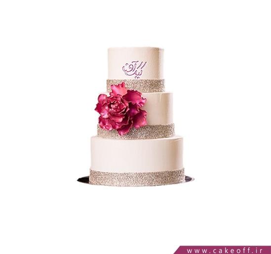 کیک عروسی جدید - کیک عروسی ناتلی 2 | کیک آف