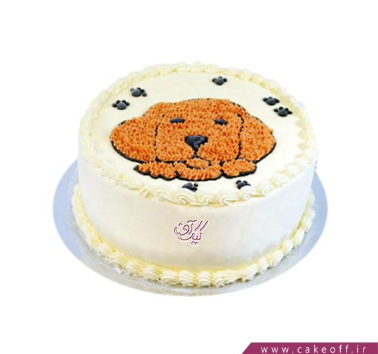 کیک تولد بچه گانه  - کیک داگی   کیک آف