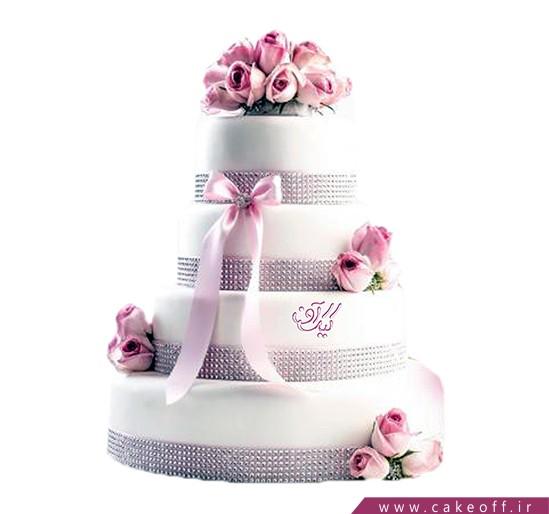 کیک عروسی - کیک عقد عشق پیش میآید | کیک آف