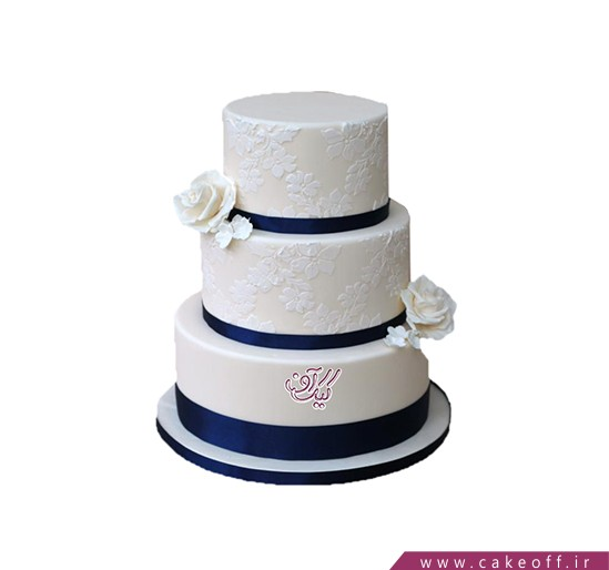 مدل کیک عروسی - کیک عروسی بی بی 2 | کیک آف