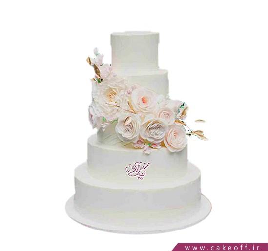 مدل کیک عروسی - کیک عروسی شیک و زیبا | کیک آف