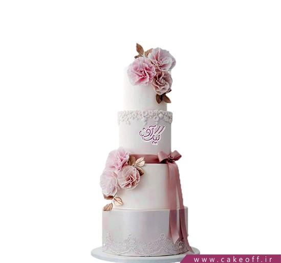 کیک عقد و عروسی نیوشا 3