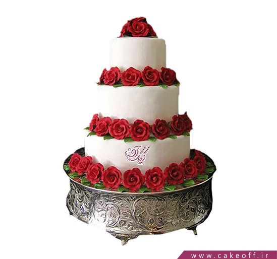 کیک عروسی آندلس | کیک آف