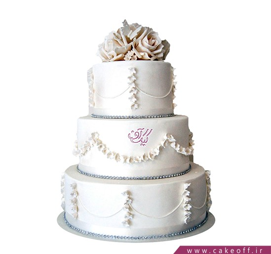 کیک جشن عقد تا ابد عاشق | کیک آف