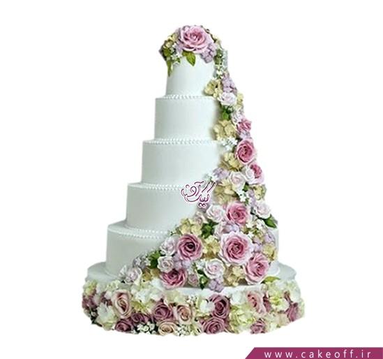 کیک عروسی دیوانه وار دوستت دارم | کیک آف