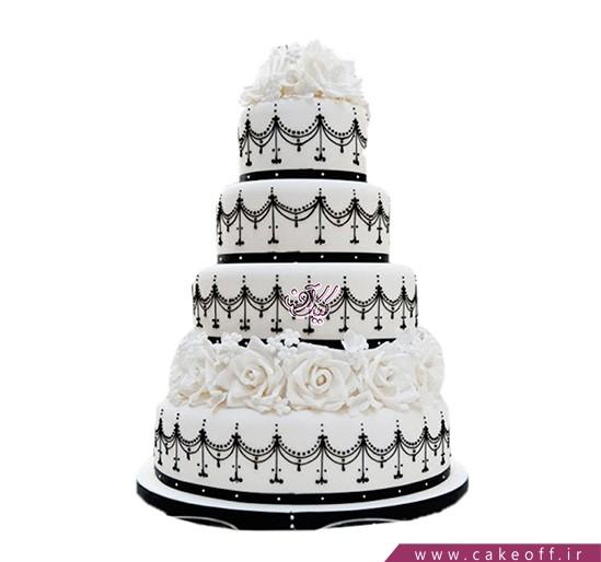 کیک عروسی ملکه من | کیک آف