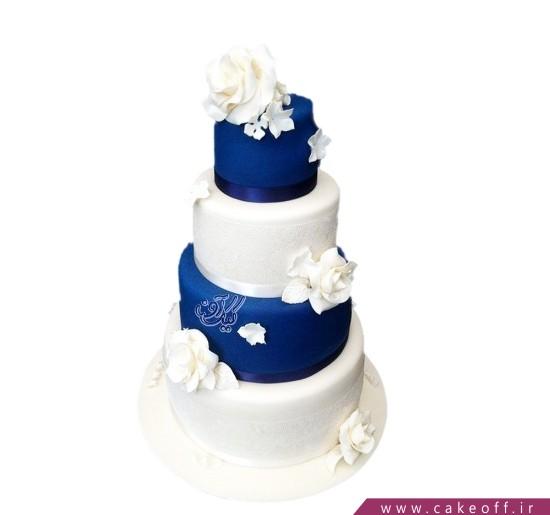 کیک عروسی با شکوه