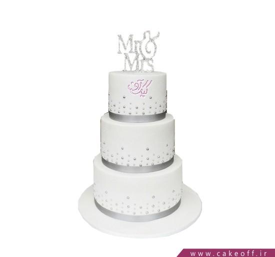 کیک عروسی جدید - کیک عروسی با تو خوشبختم | کیک آف