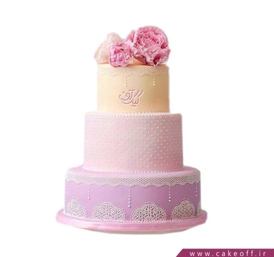 کیک عقد و عروسی طبق طبق زندگی | کیک آف